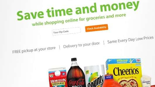 Wal-Mart expands online grocery delivery via Uber to Orlando, Dallas