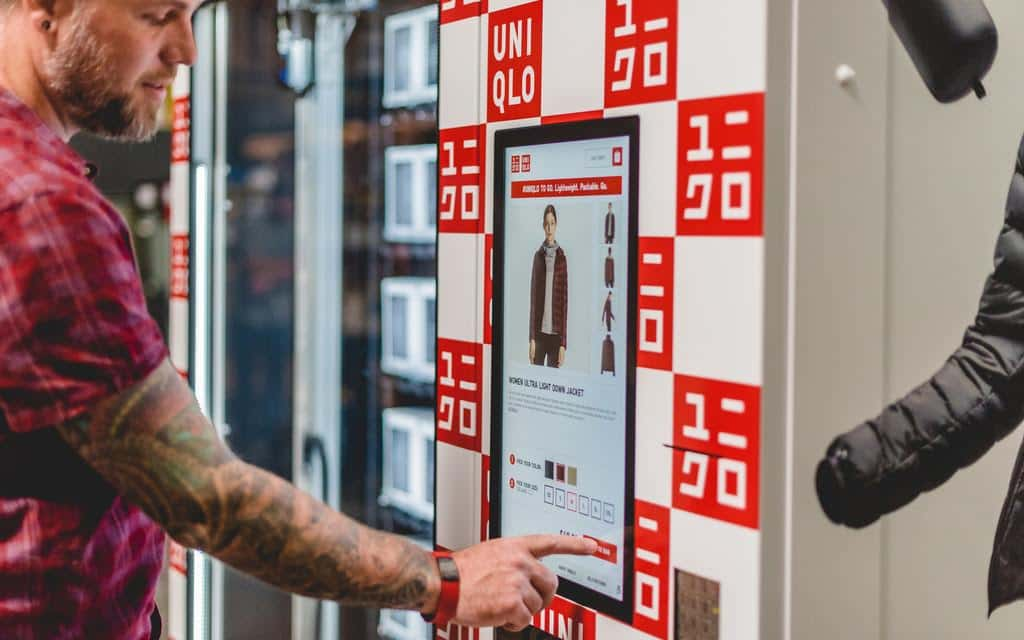 Uniqlo Tries New Approach: Shirts in Vending Machines